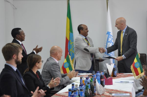 The Ethiopian Management Institute signs MOU with Crown Agents
