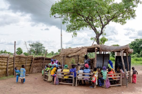 Community school in Ghana