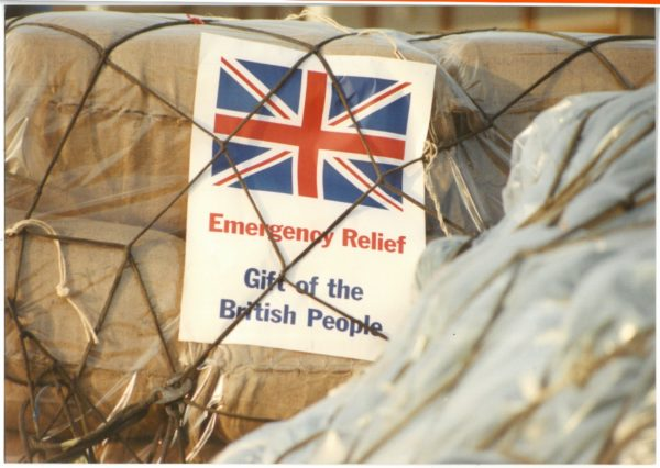 Emergency aid delivery