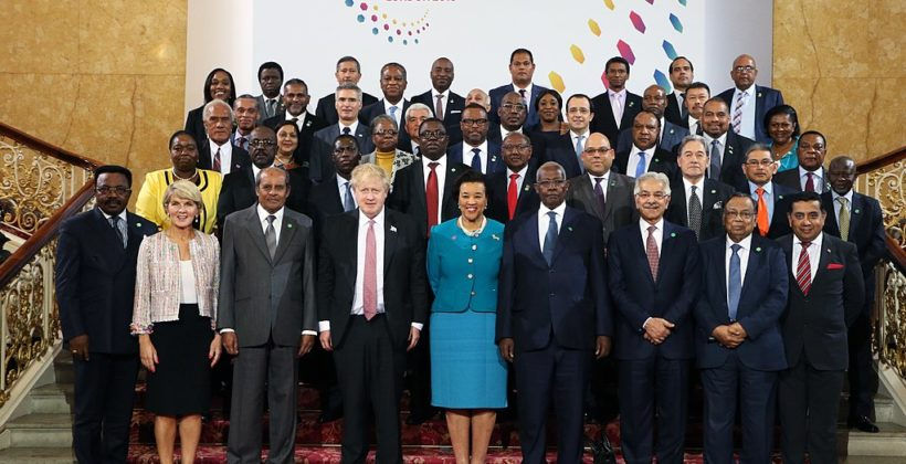 Commonwealth leaders at CHOGM 2018