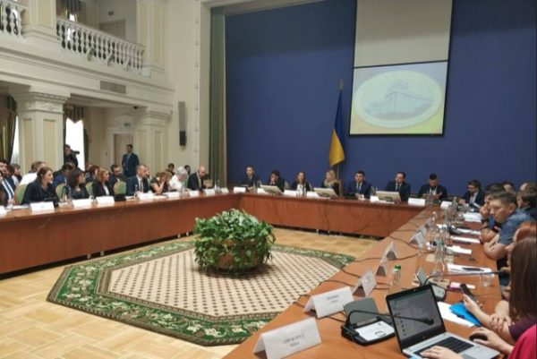 CEO Fergus Drake attends extended meeting with Ukraine Prime Minister