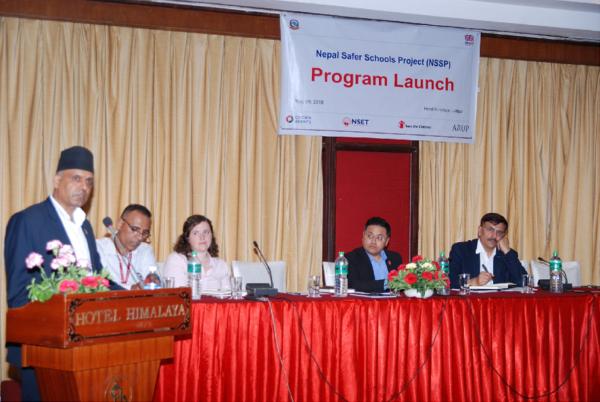 Nepal Safer Schools Launch