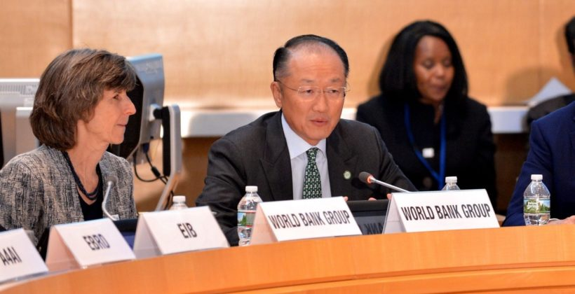 Photo of World Bank President Jim Kim