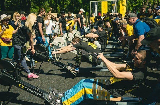Invictus Games athletes train in Ukraine