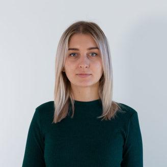 Head shot of Anastasiia Sokurenko