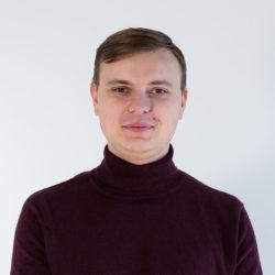 Head shot of Bohdan Lisovskyi