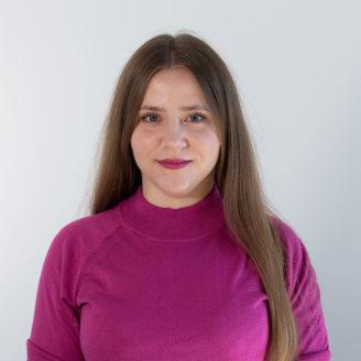 Head shot of Tetiana Gryshchenko